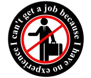 geen werkervaring, geen baan